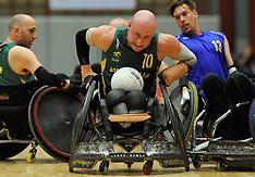 20130607 Australien - Sverige, DHIF Rugby Wheelchair Challenge
