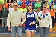 Senior Night at Midview High School boys varsity basketball on February 18, 2014. Images © David Richard and may not be copied, posted, published or printed without permission.