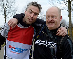 02-03-2013 ALGEMEEN: WE BIKE 2 CHANGE DIABETES: SOEST<br /> Bij Sportmaster in Soest was de eerste Training voor de 15 deelnemers aan de Trans Norway Challenge.<br /> ©2013-FotoHoogendoorn.nl