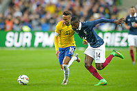 Neymar / Blaise Matuidi  - 26.03.2015 - France / Bresil - Match Amical<br />