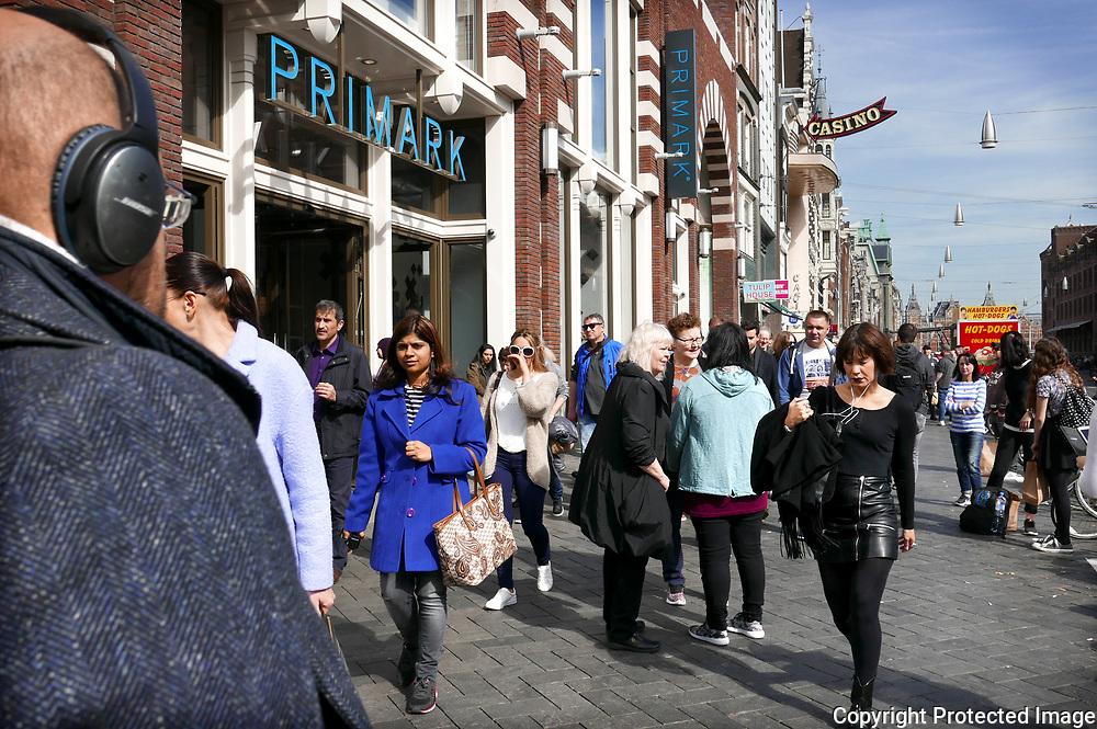 March 30, 2017 - 13:06<br /> The Netherlands, Amsterdam - Damrak