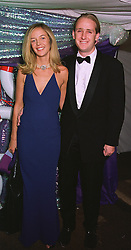 The HON.PIERS & MRS PORTMAN at a ball in London on 30th June 1999. MTZ 30
