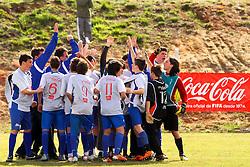 Lance da partida entre as equipes Projeto CAE e Carlos Barbosa válida pela copa Coca-Cola, no Complexo Esportivo Zona Norte, neste sabado 24/09/2011, em Caxias do Sul. FOTO: Marcos Nagelstein/Preview.com