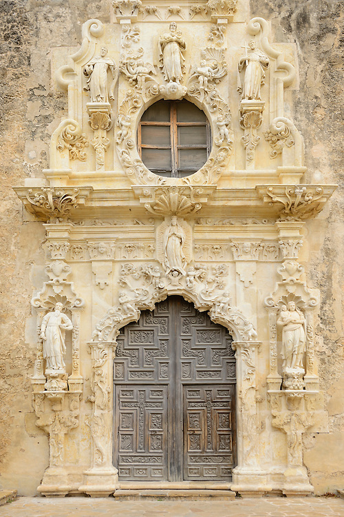 Mission San José y San Miguel de Aguayo is a historic Catholic mission in San Antonio, Texas, USA. near city of San Antonio,Texas,USA