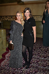 Left to right, STEFANIE RYCRAFT JONES and ALICE HORLICK at the WGSN Global Fashion Awards 2015 held at The Park Lane Hotel, Piccadilly, London on 14th May 2015.