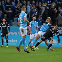 2019-10-06 | Malmö, Sweden: IFK Göteborg (20) Victor Wernersson during the game between Malmö FF and IFK Göteborg at Malmö Stadion ( Photo by: Roger Linde | Swe Press Photo )<br /> <br /> Keywords: Malmö Stadion, Malmö, Soccer, Allsvenskan, Malmö FF, IFK Göteborg, mg191006