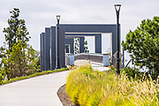 Stainless Steel Modular Pedestrian Bridge in Irvine
