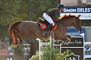 Paris, France : Simon Delestre riding Hermes Ryan during the Longines Paris Eiffel Jumping 2018, on July 5th to 7th, 2018 at the Champ de Mars in Paris, France - Photo Christophe Bricot / ProSportsImages / DPPI