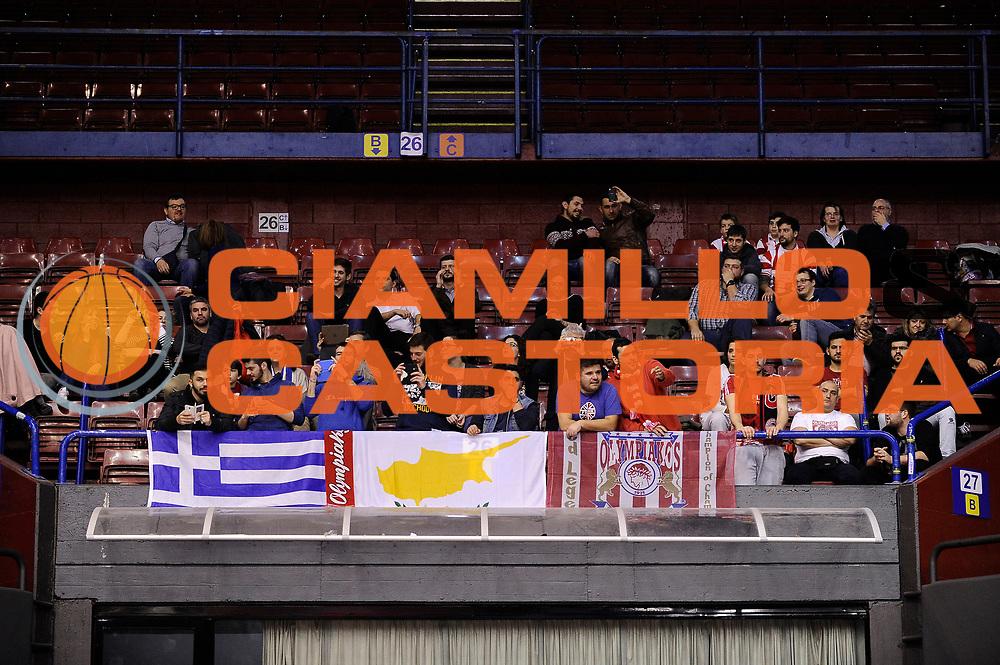 DESCRIZIONE : Milano Eurolega Euroleague 2014-15 EA7 Emporio Armani Milano Olympiacos Piraeus<br /> GIOCATORE : tifosi<br /> CATEGORIA : tifosi<br /> SQUADRA : Olympiacos Piraeus<br /> EVENTO : Eurolega Euroleague 2014-2015<br /> GARA : EA7 Emporio Armani Milano Olympiacos Piraeus<br /> DATA : 06/03/2015<br /> SPORT : Pallacanestro <br /> AUTORE : Agenzia Ciamillo-Castoria/Max.Ceretti<br /> Galleria : Eurolega Euroleague 2014-2015<br /> Fotonotizia : Milano Eurolega Euroleague 2014-15 EA7 Emporio Armani Milano Olympiacos Piraeus<br /> Predefinita :