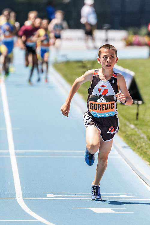 adidas Grand Prix Diamond League Track & Field: Boys Youth Mile, Jonah Gorevic