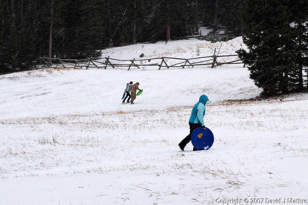 Winter Play Area, Hidden Valley, Rocky Mountain National Park.