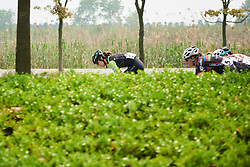 Marcella Toldi (BRA) leads the peloton at Tour of Chongming Island 2018 - Stage 2, a 121.3km road race from Changxing Fenghuang Park to Chongming Island on April 27, 2018. Photo by Sean Robinson/Velofocus.com