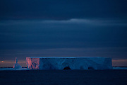 February 13th 2007. Southern Ocean. An iceberg floats in the Ross Sea.