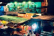 VILA MIMOSA, Rio de Janeiro, Brésil, où travaillent 1500 prostituées de jour comme de nuit. Vue générale.