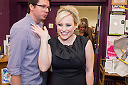 "Sept. 16 - TEMPE, AZ: MEGHAN MCCAIN waves while she walks into Changing Hands Bookstore in Tempe, AZ, to sign her book, ""Dirty Sexy Politics"" Thursday, Sept. 16. McCain's book is a recounting of her life on the campaign trail during the 2008 election, when her father, John McCain, was the Republican candidate for President of the United States.  Photo by Jack Kurtz"