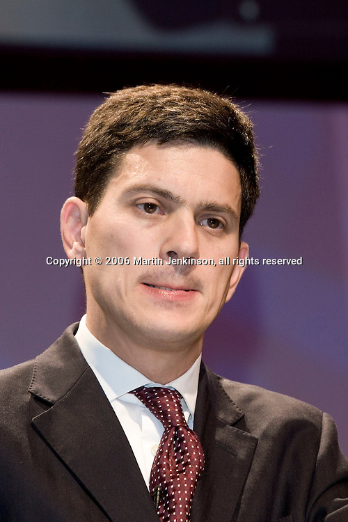 The Right Honourable David Miliband MP, Labour Sunderland South, Environment Secretary.