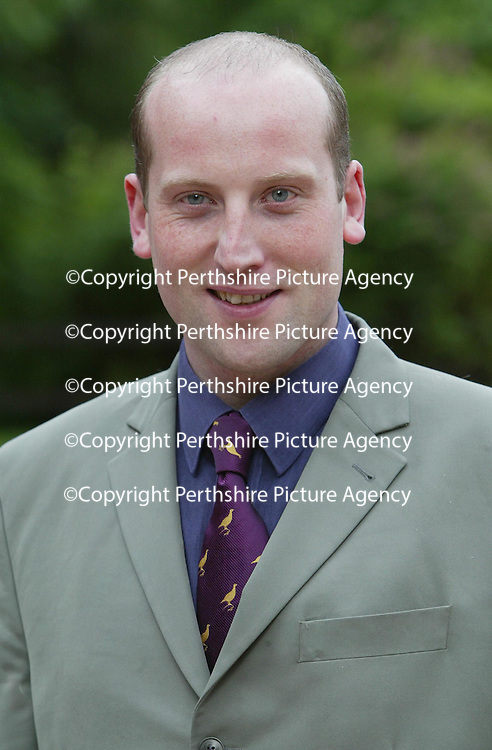 Richard Prendville, Duty Manager at The Famous Grouse Experience.<br />