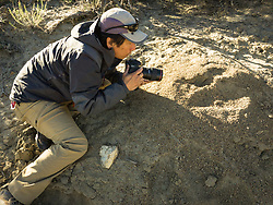 Wildlife photojournalist Noppadol Paothong photographs red harvester ants at the Killpecker Dunes in Wyoming. ©John L. Dengler / DenglerImages.com