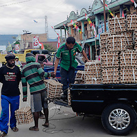 All consumer goods and even some agricultural goods are imported from outside Papua.