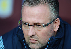 Aston Villa Manager, Paul Lambert  - Photo mandatory by-line: Joe Meredith/JMP - Mobile: 07966 386802 - 20/12/2014 - SPORT - football - Birmingham - Villa Park - Aston Villa v Manchester United - Barclays Premier League