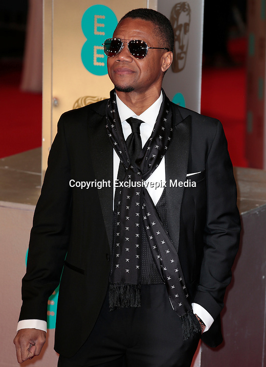 Feb 8, 2015 - EE British Academy Film Awards 2015 - Red Carpet Arrivals at Royal Opera House<br /> <br /> Pictured: Cuba Gooding, Jr<br /> ©Exclusivepix Media