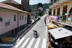 Alexis Ryan (USA) at Stage 2 of 2019 Giro Rosa Iccrea, an 78.3 km road race starting and finishing in Viù, Italy on July 6, 2019. Photo by Sean Robinson/velofocus.com