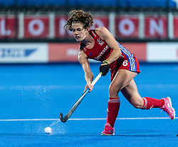 Anna Toman of Great Britain Women during the 2019 Women's FIH Pro League match at Lee Valley Hockey Centre, Stratford<br /> Picture by Simon Parker/Focus Images Ltd <br /> 03/05/2019