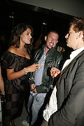 Tracey Emin and Alexander McQueen, Work by Mexican artist, Gabriel Orozco. Gallery opening & private view at new White Cube space, 25-26 Mason's Yard, London and afterwards at Claridges. London. 27 September 2006. <br /> -DO NOT ARCHIVE-© Copyright Photograph by Dafydd Jones 66 Stockwell Park Rd. London SW9 0DA Tel 020 7733 0108 www.dafjones.com