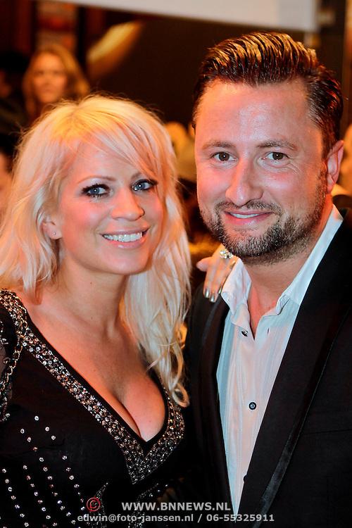 NLD/Amsterdam/20111004 - Premiere Body Language, Dennis Weening en partner Stella Maassen