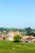 SANTILLANA DEL MAR, SPAIN - April 20 2018 - Santillana del Mar, Cantabria, Spain.