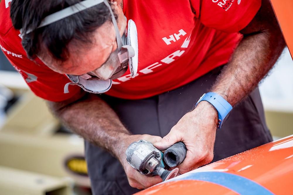 © Maria Muina I MAPFRE. Maintenance period in Itajaí. Puesta a punto en Itajaí.