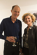 MARY ANN SIEGHART AND HER HUSBAND DAVID PRICHARD, Behind the Silence. private view  an exhibition of work by Paul Benney and Simon Edmondson. Serena Morton's Gallery, Ladbroke Grove, W10.  4 November 2015.