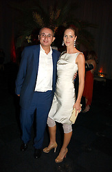 TRINNY WOODALL and her husband JONNY ELICHAOFF at the Fortune Forum Dinner held at Old Billingsgate, 1 Old Billingsgate Walk, 16 Lower Thames Street, London EC3R 6DX<br /><br />NON EXCLUSIVE - WORLD RIGHTS