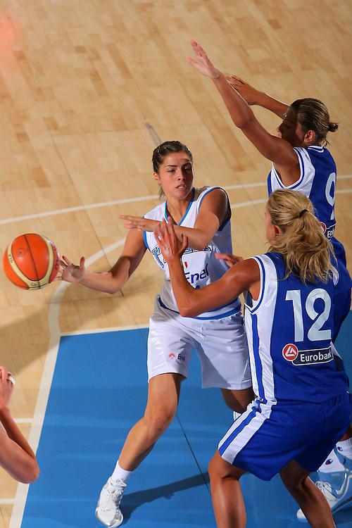 DESCRIZIONE : Bormio Torneo Internazionale Femminile Olga De Marzi Gola Italia Grecia <br /> GIOCATORE : Bagnara <br /> SQUADRA : Nazionale Italia Donne Italy <br /> EVENTO : Torneo Internazionale Femminile Olga De Marzi Gola <br /> GARA : Italia Grecia Italy Greece <br /> DATA : 24/07/2008 <br /> CATEGORIA : Passaggio <br /> SPORT : Pallacanestro <br /> AUTORE : Agenzia Ciamillo-Castoria/S.Silvestri <br /> Galleria : Fip Nazionali 2008 <br /> Fotonotizia : Bormio Torneo Internazionale Femminile Olga De Marzi Gola Italia Grecia <br /> Predefinita :