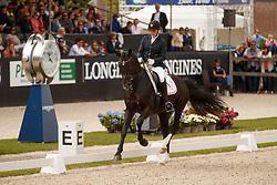 Hosbond Anne Marie, DEN, Straight Horse Don Tamino<br /> Longines FEI/WBFSH World Breeding Dressage Championships for Young Horses - Ermelo 2017<br /> © Hippo Foto - Dirk Caremans<br /> 06/08/2017