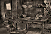 Kitchen at Vultrue MIne, Wickenburg, AZ