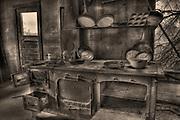 Kitchen at Vultrue MIne, Wickenburg, AZ