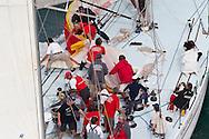 SPAIN, Alicante. 3rd November 2011. Volvo Ocean Race Legends Regatta. Fisher & Paykel.