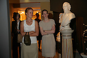 Emmeline Storey and Nicola Copping, New Collectors Evening. Grosvenor House Antiques Fair. Park Lane. 19 June 2007.  -DO NOT ARCHIVE-© Copyright Photograph by Dafydd Jones. 248 Clapham Rd. London SW9 0PZ. Tel 0207 820 0771. www.dafjones.com.