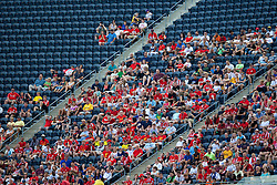 CHICAGO, USA - Sunday, July 27, 2014: Liverpool supporters during the International Champions Cup Group B match against Olympiacos at the Soldier Field Stadium on day seven of the club's USA Tour. (Pic by David Rawcliffe/Propaganda)