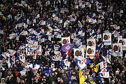 09.03.2010, Stadio Artemio Franchi, Florenz, ITA, UEFA Championsleague, AC Florenz vs Bayern Muenchen, im Bild Fiorentina Fans, EXPA Pictures © 2010, PhotoCredit: EXPA/ InsideFoto/ Andrea Staccioli / for Slovenia SPORTIDA PHOTO AGENCY.