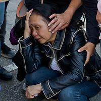 Manifestazione contro i rom