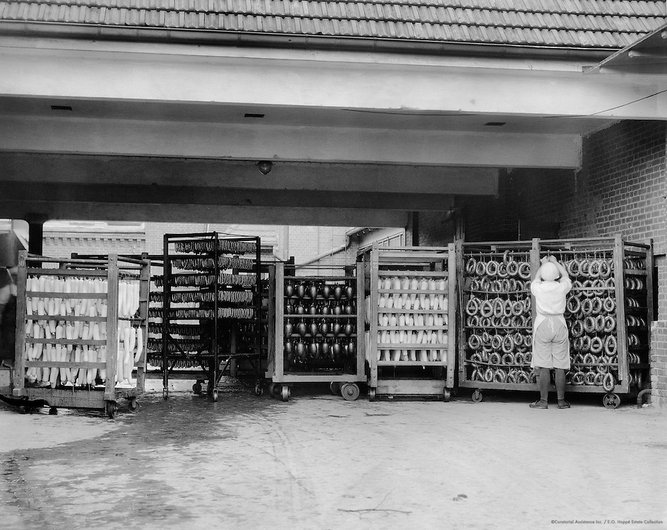 Meat and Sausage Manufacture, Efha Meat Processing Plant, Berlin-Marienfelde, 1928