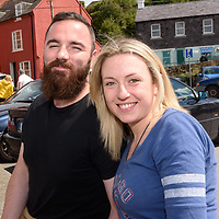 REPRO FREE<br /> Michael O'Connell and Vivian Maher from Kinsale pictured at the RNLI Raft Race in Kinsale on Saturday of the Bank Holiday Weekend<br /> Picture. John Allen