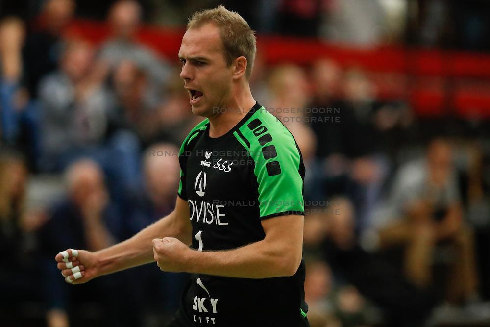 20161029 NED: Eredivisie, Vallei Volleybal Prins - Advisie SSS: Ede<br />Frank van den Noort of Advisie SSS<br />&copy;2016-FotoHoogendoorn.nl / Pim Waslander