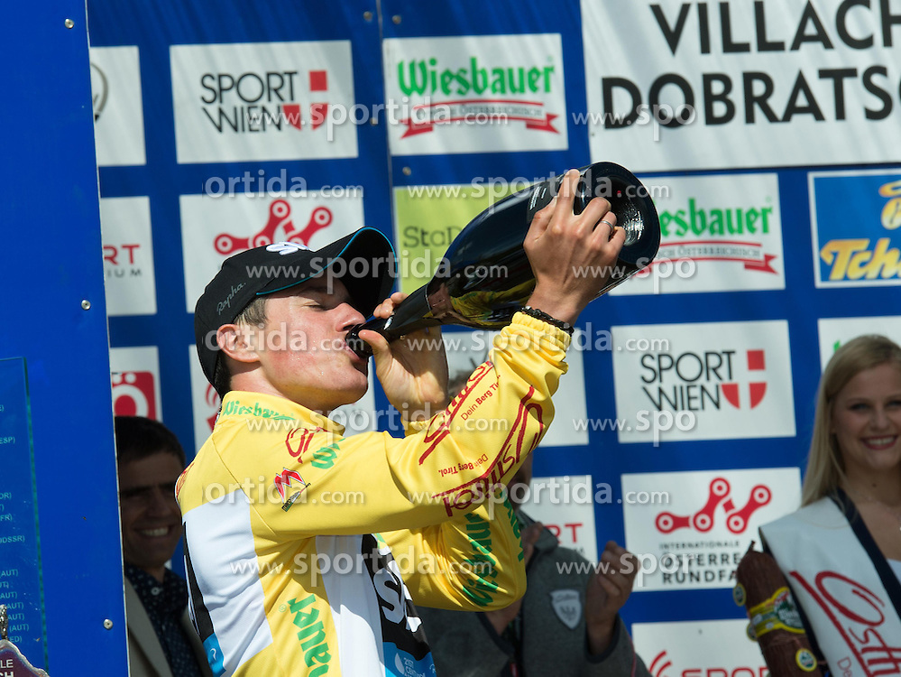 11.07.2014, Villach Dobratsch, AUT, 66. Österreich Radrundfahrt, 6. Etappe, St.Johann Alpendorf nach Villach Dobratsch, im Bild Pete Kennaugh (GBR) // during the 66th Tour of Austria, Stage 6, from St.Johann Alpendorf to Villach Dobratsch, Villach Dobratsch, Austria on 2014/07/11. EXPA Pictures © 2014, PhotoCredit: EXPA/ Reinhard Eisenbauer
