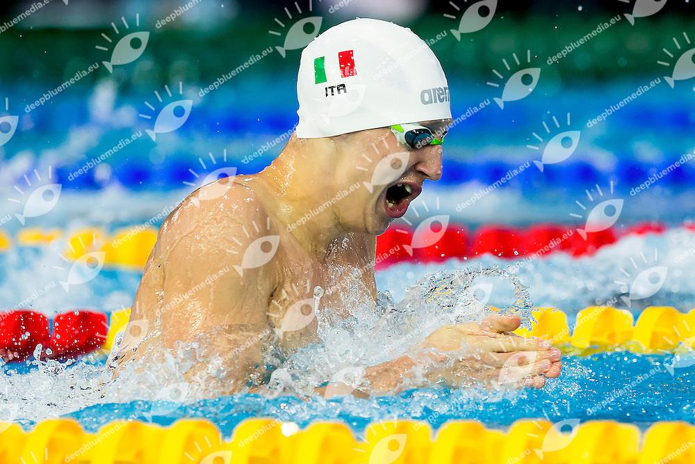 Poggio Federico ITA<br /> 100 Breaststroke Men Heats <br /> LEN 43rd Arena European Junior Swimming Championships<br /> Hodmezovasarhely, Hungary <br /> Day04 09-07-2016<br /> Photo Andrea Masini/Deepbluemedia/Insidefoto