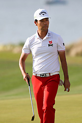 March 29, 2019 - Austin, Texas, United States - Kevin Na approaches the 14th green during the third round of the 2019 WGC-Dell Technologies Match Play at Austin Country Club. (Credit Image: © Debby Wong/ZUMA Wire)
