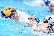 24-07-2017: Waterpolo: Nieuw Zeeland v Nederland: Boedapest<br /> <br /> (L-R) Amarens Genee of team Netherlands during the waterpolomatch between women New Zealand and Netherlands at the 17th FINA World Championships 2017 in Budapest, Hungary<br /> <br /> Photo / Foto: Gertjan Kooij