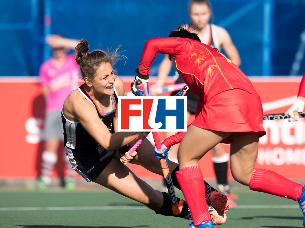 AUCKLAND - Sentinel Hockey World League final women<br /> Match id 10297<br /> 07 Germany v China<br /> Foto: Marie Mavers scores.<br /> WORLDSPORTPICS COPYRIGHT FRANK UIJLENBROEK